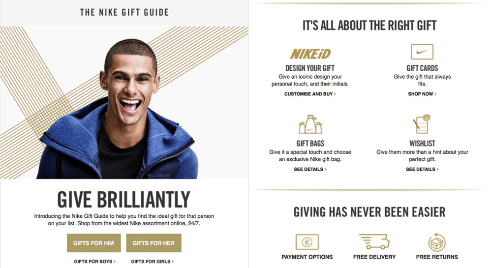 Nike Gift Guide